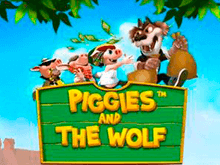 Игровой автомат Piggies And The Wolf от PlayTech – играйте онлайн